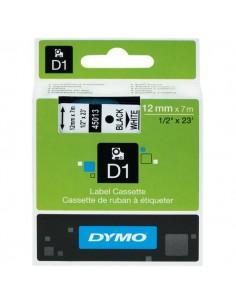 Nastri Dymo D1 - 6 mm x 7 m - nero/bianco - S0720780