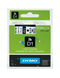 Nastri Dymo D1 - 9 mm x 7 m - nero/bianco - S0720680
