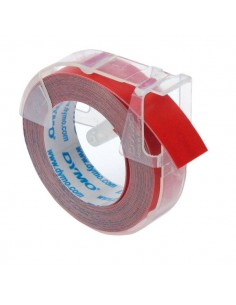 Nastri Dymo per etichettatrici a rilievo - rosso - S0898150