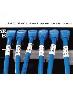 Etichette nylon flessibile superfici curve Dymo Rhino Pro 5200 - bianco - 3,5 m - 19 mm - 18489