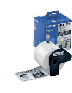Etichette adesive in carta serie DK Brother - 62x100 mm - 300 - DK11202