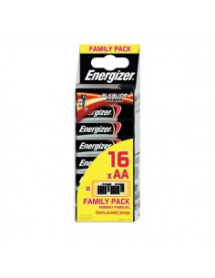 Energizer Family Pack Alkaline Power AA x 16 - stilo- E300173300/E300173302 (conf.16)