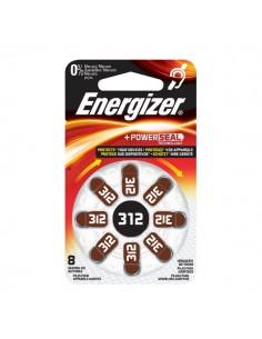Pile acustiche Energizer - 312 - 1,4 V - E001082504/E301431800 (conf.8)