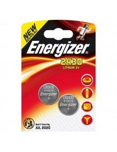 Pile Energizer Specialistiche - CR2430 - litio - E300830300/E300830301 (conf.2)