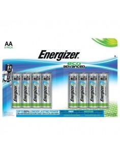 Batterie Alkaline EcoAdvanced Energizer - AA - E300116500 (conf.8)