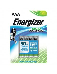 Batterie Alkaline EcoAdvanced Energizer - AAA - ministilo -E300128100 (conf.4)