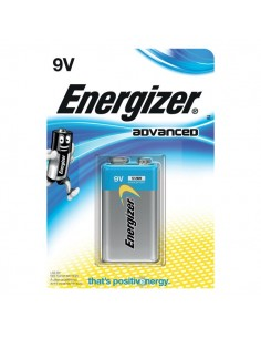 Batterie Alkaline EcoAdvanced Energizer - 9V - transistor - E300116700