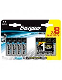 Pile alcaline Max Plus Energizer - AA - stilo - E301324600 (conf.8)