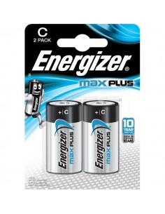 Pile alcaline Max Plus Energizer - C - mezzatorcia - E301324200 (conf.2)