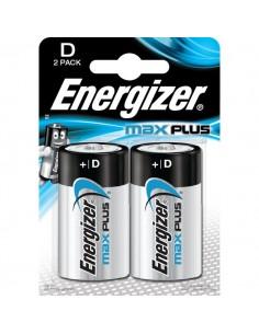 Pile alcaline Max Plus Energizer - D - torcia - E301323900 (conf.2)