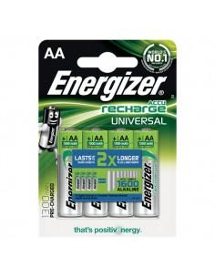 Batterie ricaricabili Energizer - AA - stilo - 1300 - E300322100/E301376000 (conf.4)
