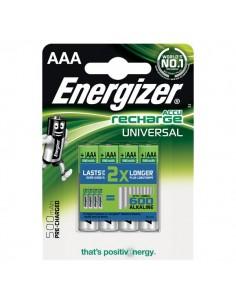 Batterie ricaricabili Energizer - AAA - ministilo - 500 - E300322200/E301375700 (Conf.4)