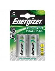 Pile ricaricabili Energizer - mezza Torcia - C - E300321800 (conf.2)
