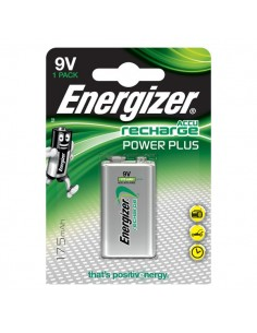 Pile ricaricabili Energizer - transistor - 9V - E300320800