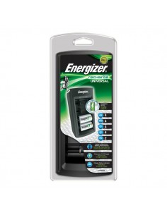 Caricabatterie Universal Charger Energizer - AA/AAA/C/D/9V - 3 - E300325500/E301335800
