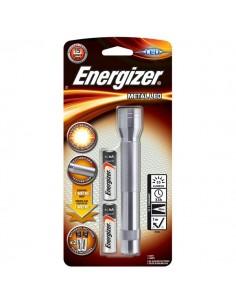Torcia Metal Led 2AA Energizer - E300695900/E300695902
