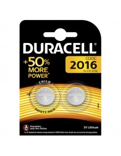 Pile Duracell Specialistiche - bottone litio - 2016 BL2 - 81575095 (conf. 2)