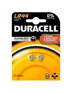 Pile Duracell Specialistiche - bottone alkalino - 1,5 V - LR44 (conf.2)