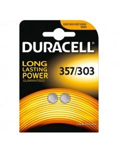 Pile Duracell Specialistiche - bottone ossido d'argento - SR44 - 1,5 V - 357/303 (conf.2)