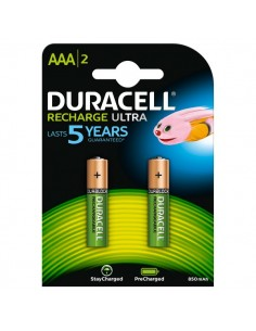 Pila ricaricabile stay charged Duracell - ministilo - AAA - 1,2 V - 94803817 (conf.2)