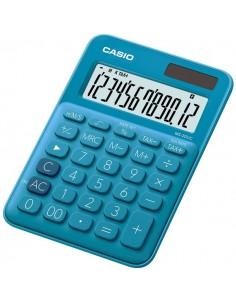 Calcolatrice da tavolo MS-20UC a 12 cifre Casio - blu - MS-20UC-BU