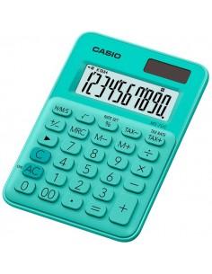 Calcolatrice da tavolo MS-7UC-GN a 10 cifre Casio - verde pastello - MS-7UC-GN