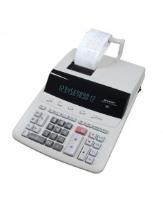 Calcolatrice scrivente CS-2635RH a 12 cifre Sharp - grigio - SH-CS2635RHGYSE