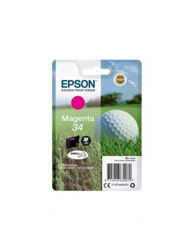 Originale Epson inkjet cartuccia pallina da golf Durabrite Ultra 34 - 4,2 ml - magenta - C13T34634010