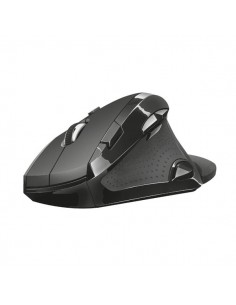 Mouse ergonomico Vergo Trust - wireless - nero - 21722