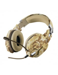 Gaming Headset GXT 322 Carus Trust - desert camo - 22125
