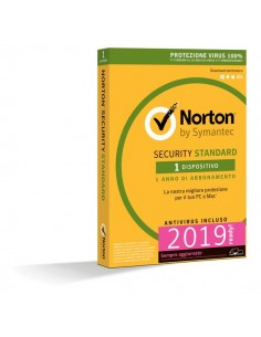 Norton Antivirus Security Standard Symantec - 1 PC - 21355483
