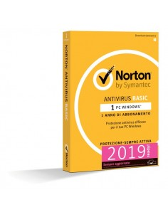 Norton Antivirus Basic Symantec - 1 PC - 21367731