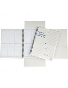 Cartellina archivio azzeramenti fiscali 4company - Alloggi scontrino 156 30x23 cm - 3940