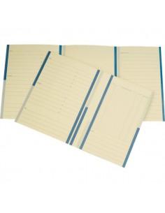 Cartellina pratica avvocati 4company - arachide 34,5x24,5 cm woodstock 285 g/mq - 7015 01 (conf.20)