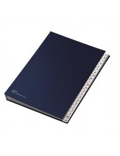 Classificatore alfabetico A-Z Fraschini - blu - 640-E