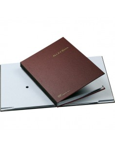 Libro Firma 14 intercalari Fraschini - rosso - 614-A