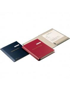 Cartella Corrispondenza Fraschini - blu - 603-SB
