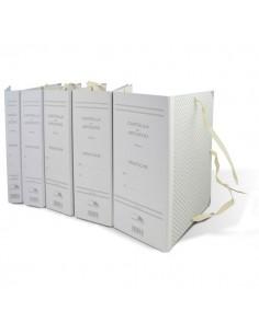 Faldoni rivestiti in carta Euro-Cart - dorso 5 cm - f.to 25x35 cm - CA05