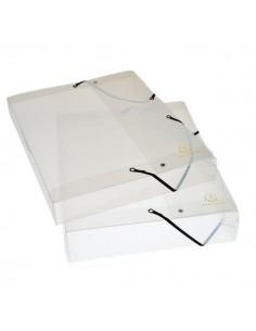 Cartelle per archivio Box Cristallo Exacompta - Dorso 2,5 cm - 5962E