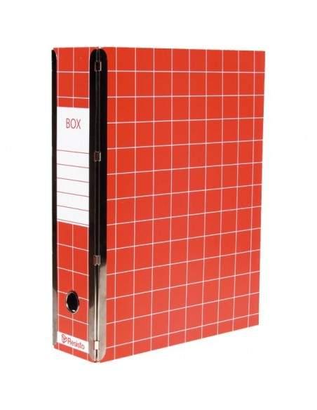 Scatola con cerniera Box 4 Resisto - 28x35x8,5 cm - 9 cm- blu - RESX401BL