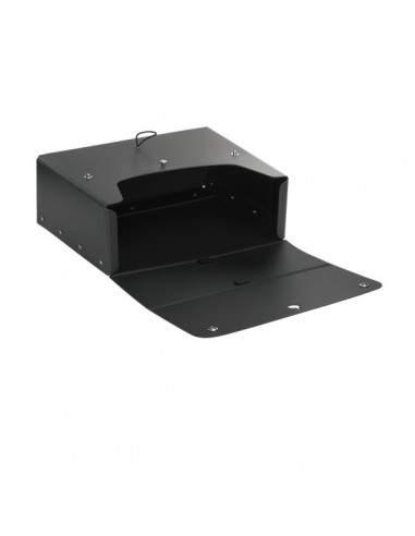 Scatola progetto con maniglia Pick Up Leonardi - Dorso 12 cm - 25z35 cm - antracite - 1031001
