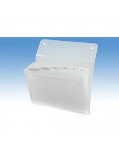 Archiviatore a soffietto Ice Rexel - 6 tasche - 2102033