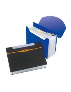 Archiviatore a soffietto Optima Rexel - blu - 2102484
