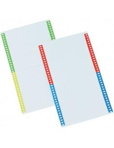 Cartoncini per cartelle sospese Bertesi - per armadio modelli Beta - 031 -10 (conf.10)