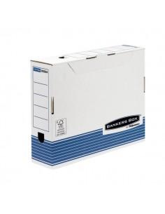 Contenitore Archivio A4 Dorso 8 cm Bankers Box System Fellowes - A4 - 0026401 (Conf.10)