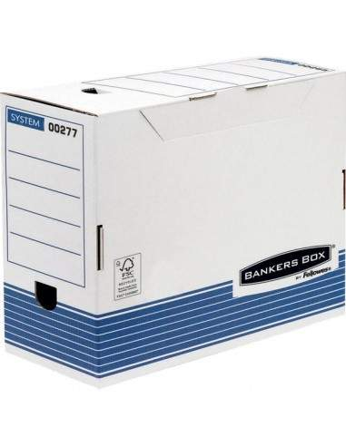 Contenitore archivio A4 Bankers Box System Fellowes - dorso 150mm - 0027701 (conf.10)