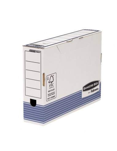 Contenitore archivio legal Bankers Box System dorso 80mm Fellowes - dorso 80mm - 0023701 (conf.10)