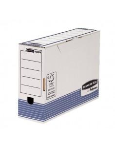 Contenitore Archivio Legal Dorso 10 cm Bankers Box System Fellowes - 36x8x25,5 cm - 0030801 (Conf.10)