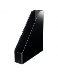 Portariviste Leitz - 7,3x27,2x31,8 cm - nero/grigio - 53620095