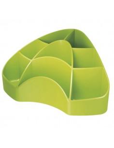 Accessori Da Scrivania My Desk Arda - Portaoggetti - 18,5x12,3x9 cm - Verde - 7121V
